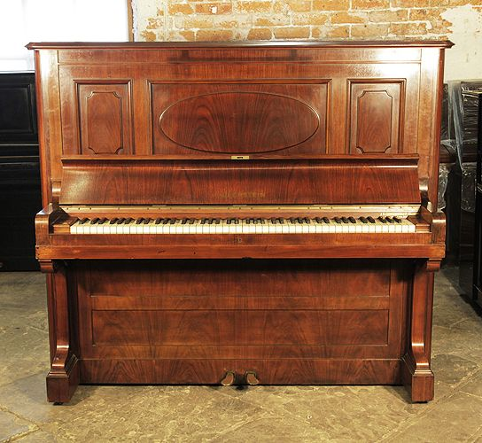 A 1923 Bechstein Model 7 Upright Piano With A Rosewood Case At