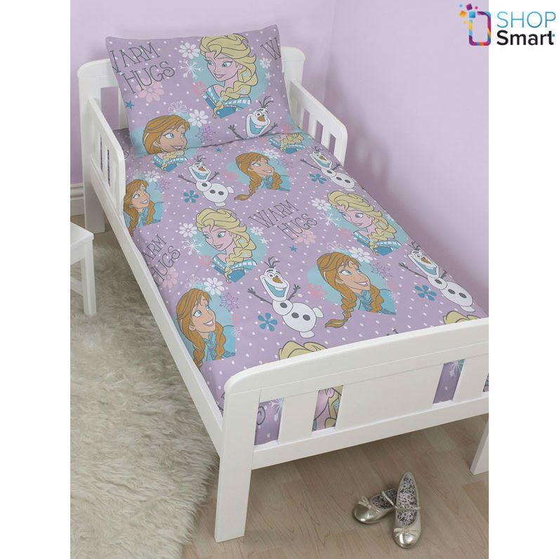Disney Frozen Crystal Junior Einzelbett Bettdecke Set Abdeckung