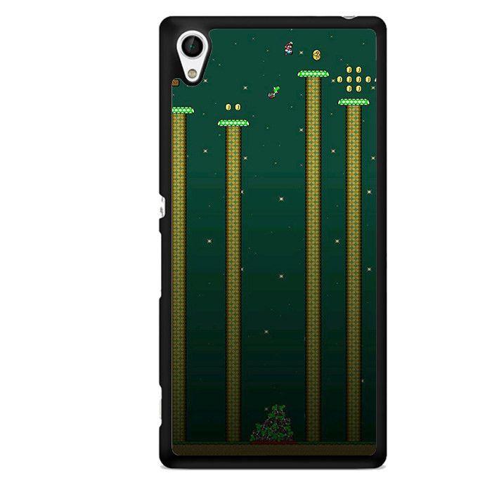 Mario Bros TATUM-6886 Sony Phonecase Cover For Xperia Z1, Xperia Z2, Xperia Z3, Xperia Z4, Xperia Z5