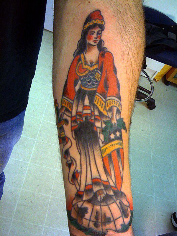 c4c0f552e Lady Liberty Tattoo by KeelHauled Mike of Black Anchor Tattoo ...