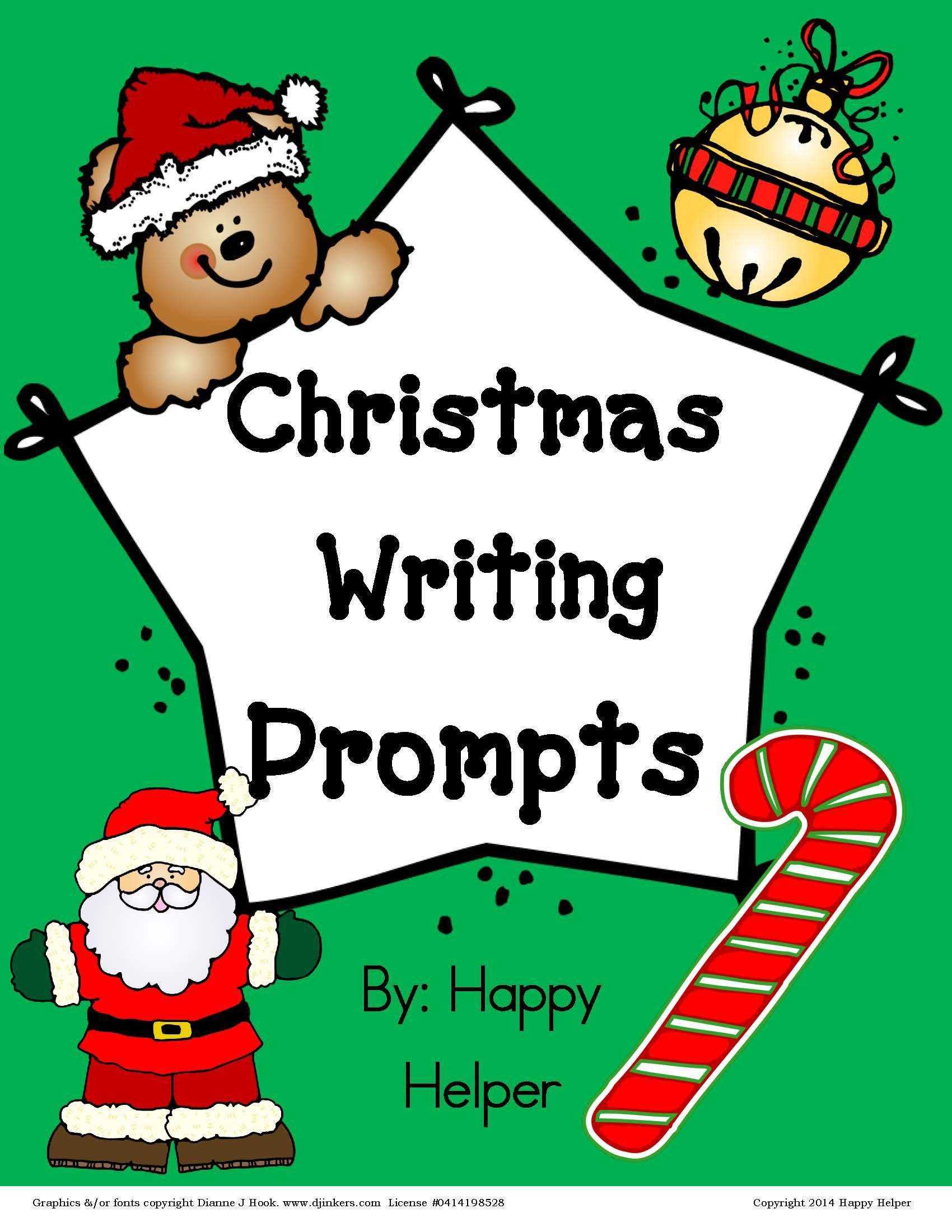 Christmas Writing Prompts Free