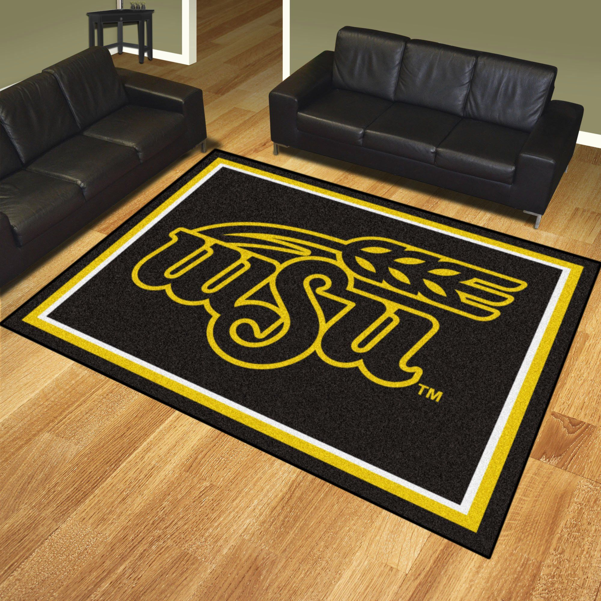 Wichita State 8 X10 Rug 8x10 Area Rugs Rugs On Carpet