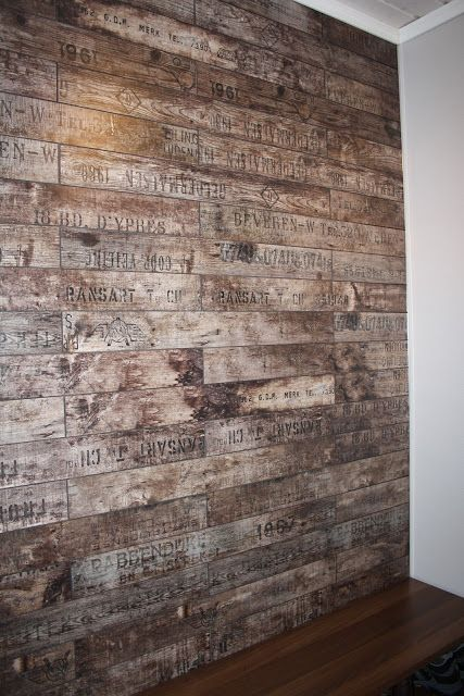 My WGB - laminate on the wall - PARADOR Trendtime 2 Wine & Fruits rustic