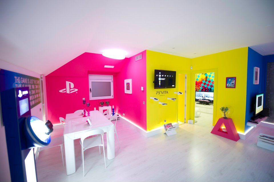 www.1818pt.com Our Playstation Room! | 1818 PT | Pinterest | Room ...
