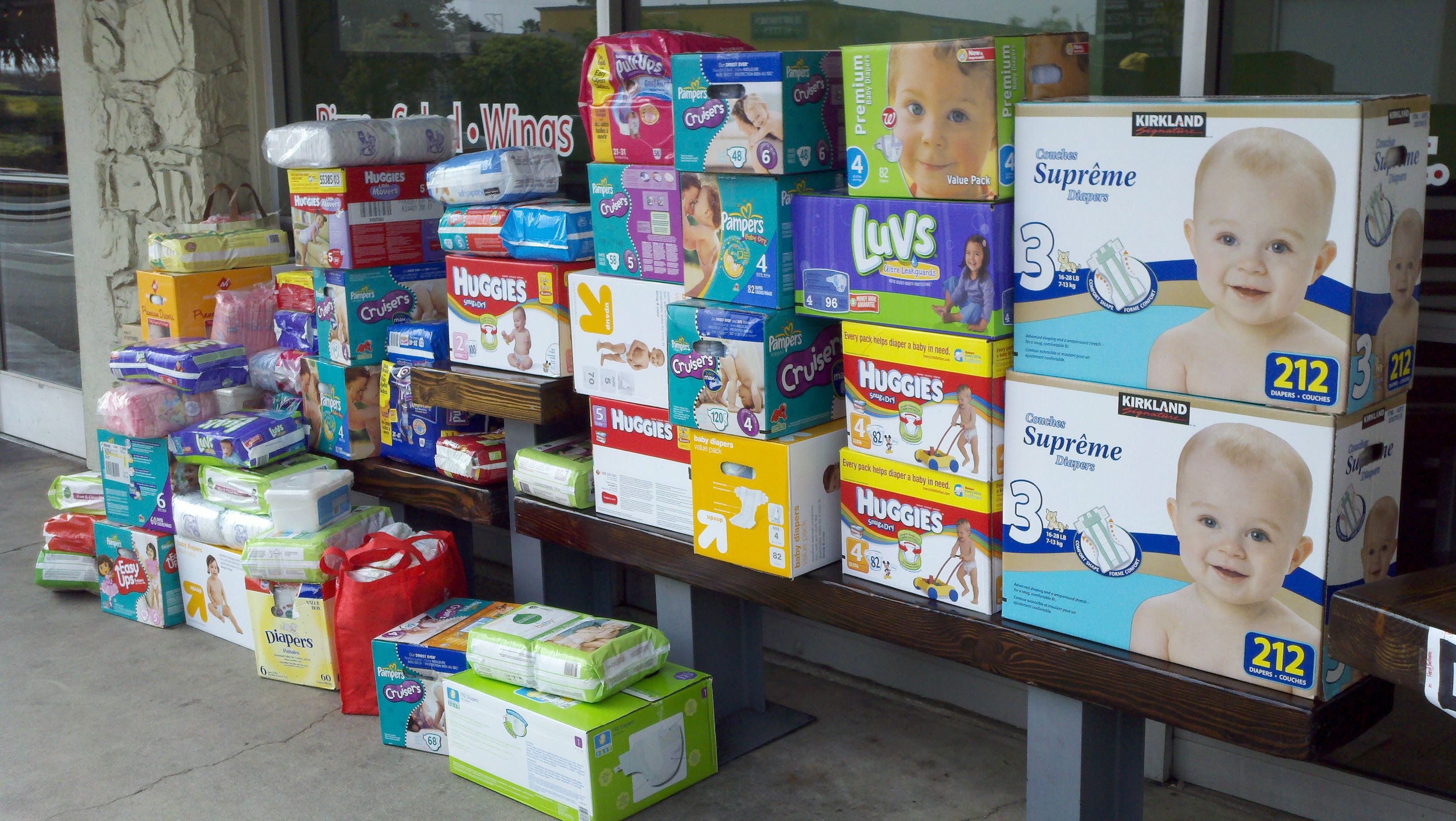Image result for stacks of diapers