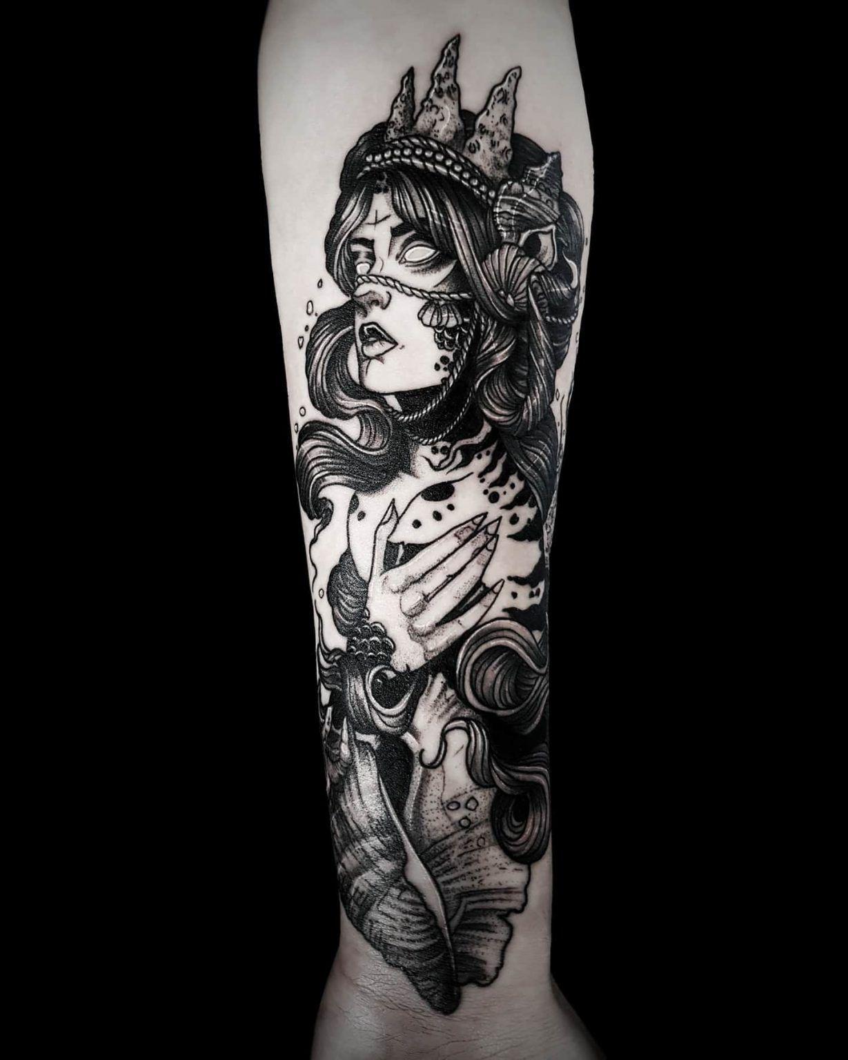 Top 55 Best Mermaid Tattoo Ideas 2020 Inspiration Guide In 2020 Mermaid Tattoos Mermaid Tattoo Traditional Mermaid Tattoos