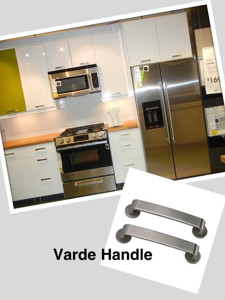 Varde handles sans disks, Abstract Doors | IKEA Kitchen Styles ...