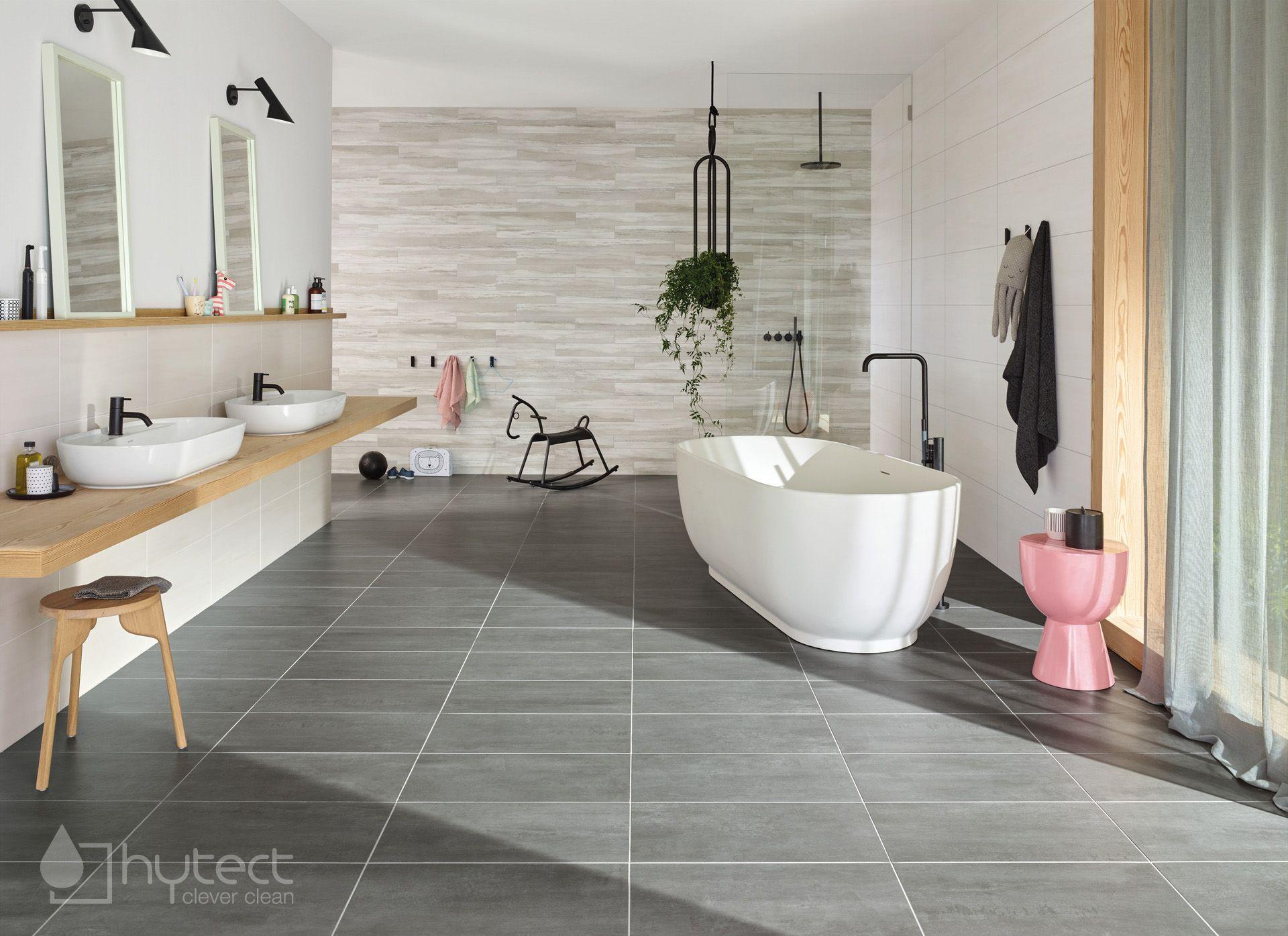 Badezimmer Ideen Grosses Familienbad Edle Marmoroptik Schwarze Armaturen Badezimmer Familienbad Badezimmerideen