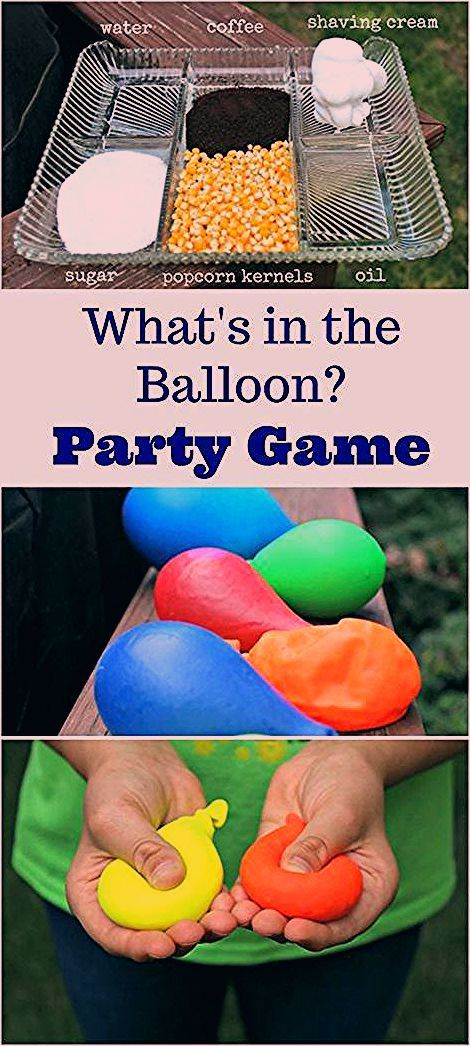 Photo of Party Games for Kids: Mystery Sensory Balloons