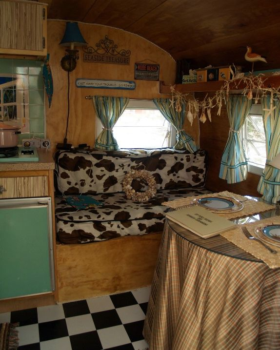 cowgirl caravan vintage travel trailer tour photographs at charity. Black Bedroom Furniture Sets. Home Design Ideas