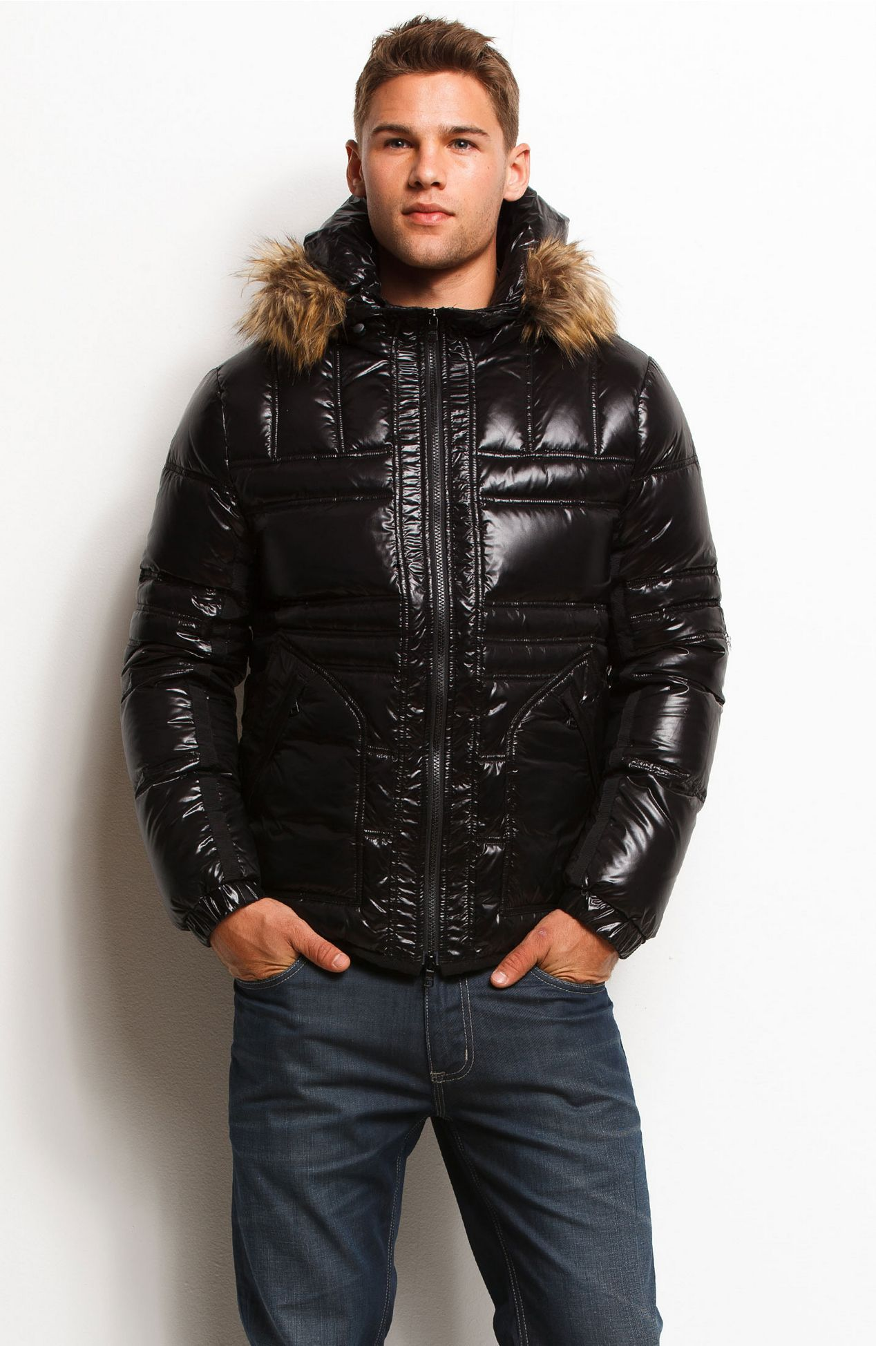 881428d138 High Shine Puffer JacketOnline Exclusive - 40% Off Select Styles - Mens -  Armani Exchange