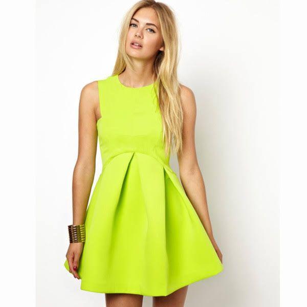 Neon Colored Dresses