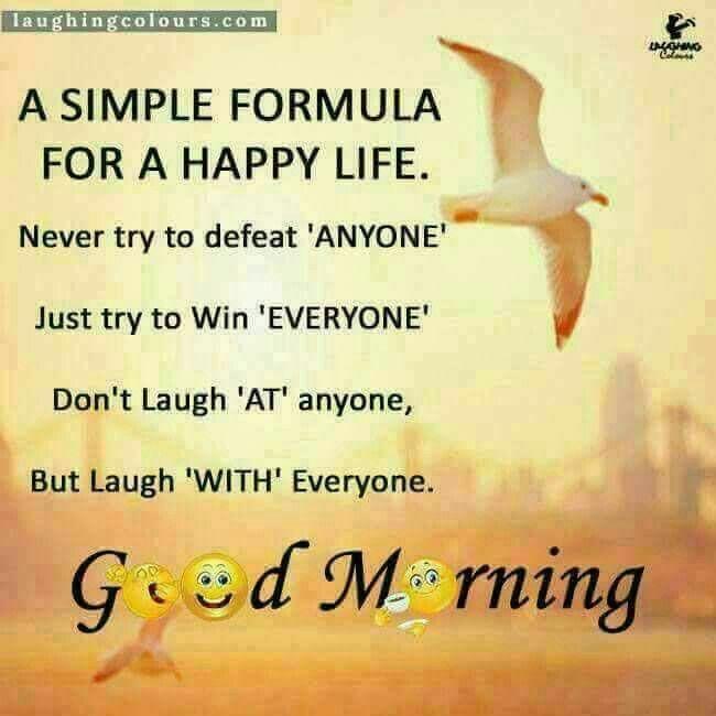 Good Morning Happy Life Quotes: Pin By Hiral Desai On ☀️Good Morning ☀️