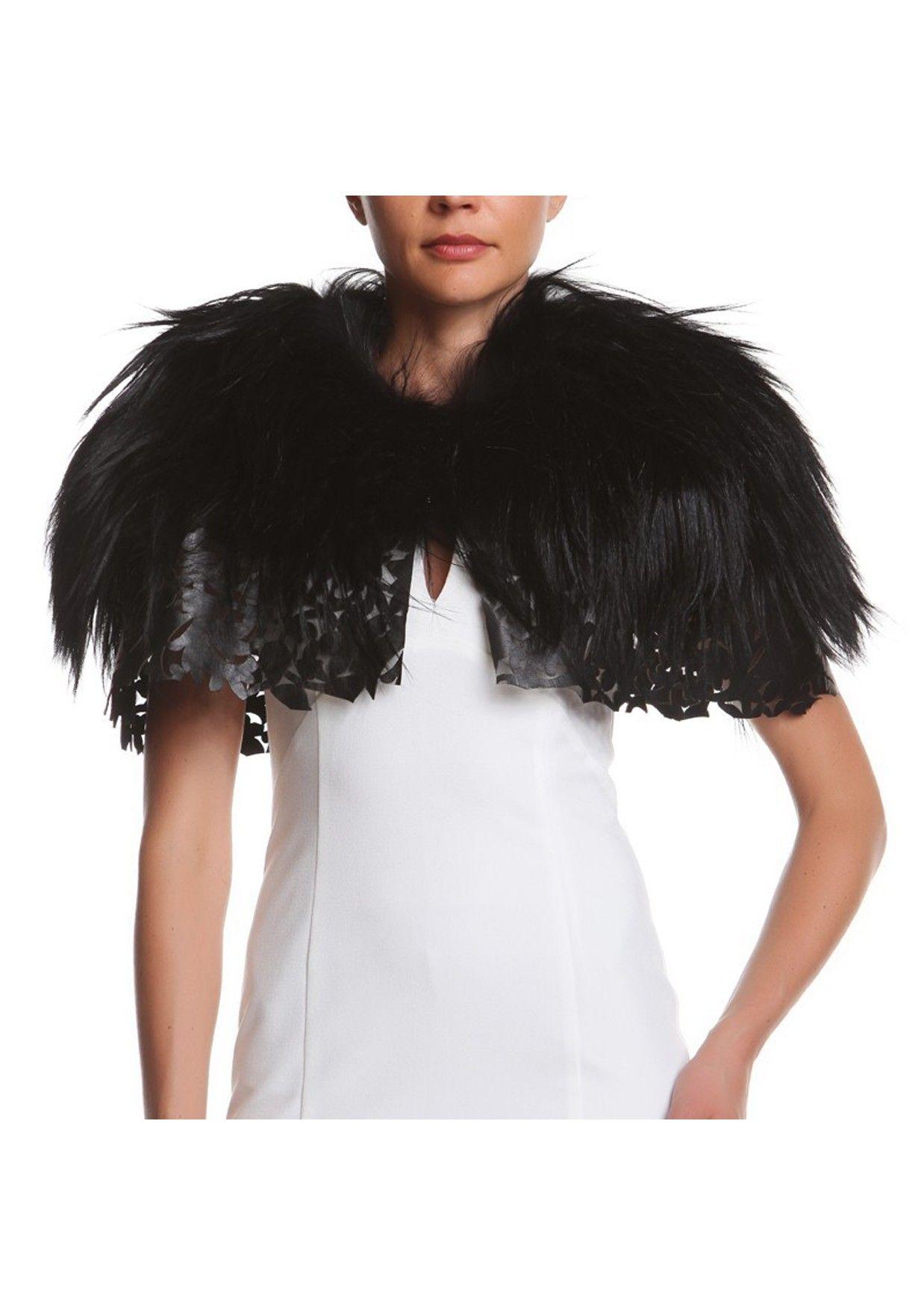 Vestito nero lana kasian