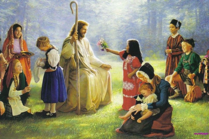 Jesus Wallpapers Images Hd Kids Jesus Wallpaper Jesus Images Jesus Pictures