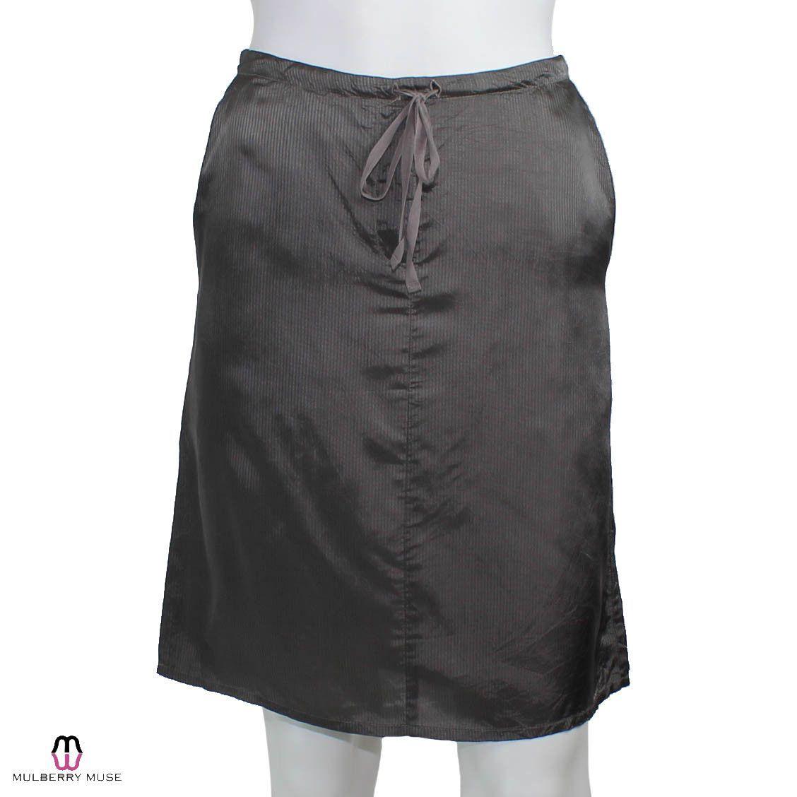 Tonal Striped Skirt