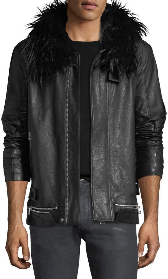 076e517746a Helmut Lang Long Leather Zip-Front Coat | Pinterest | Helmut lang ...