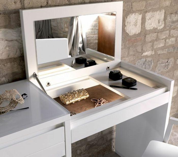 schminktisch ideen die sich in die moderne einrichtung bestens einschreiben schminktische. Black Bedroom Furniture Sets. Home Design Ideas