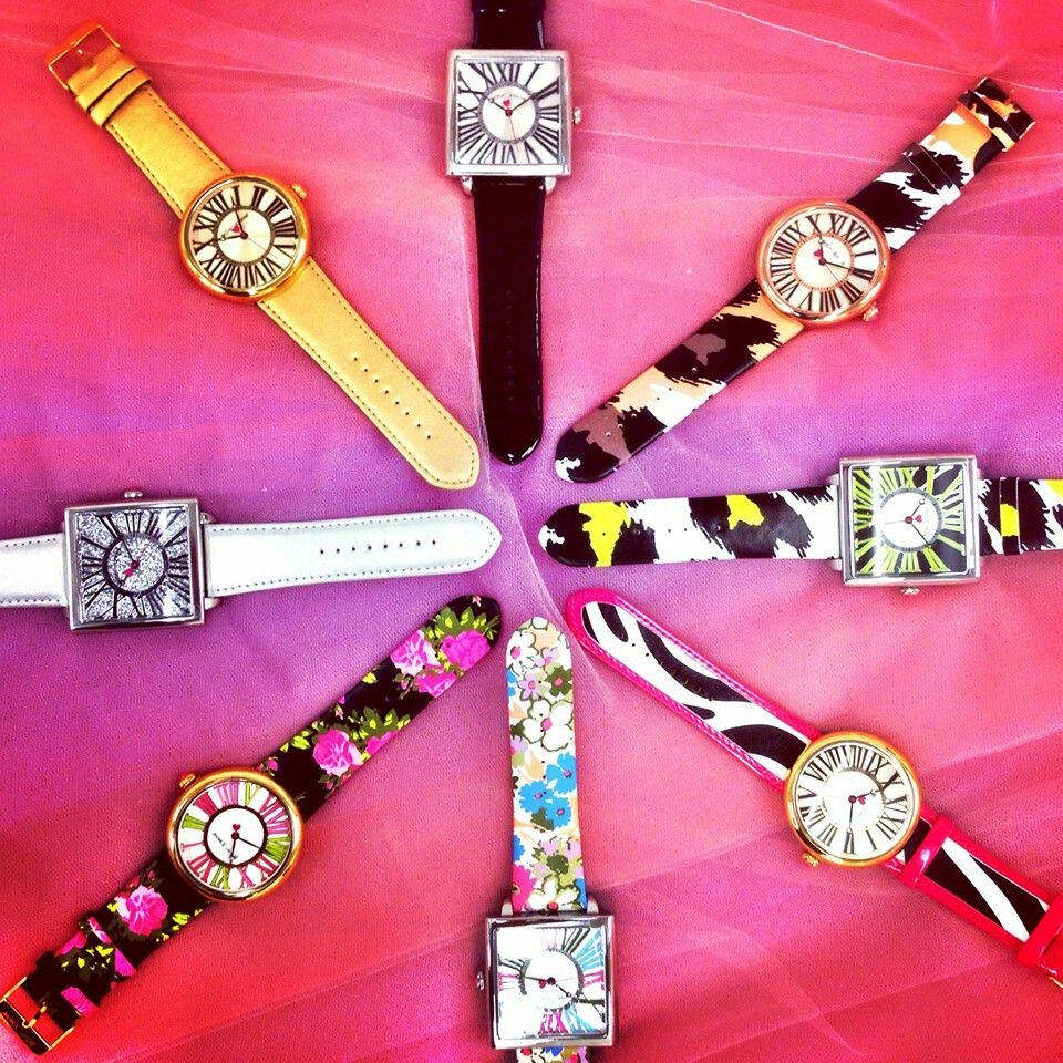 Betsey Johnson 2014 Spring Watches