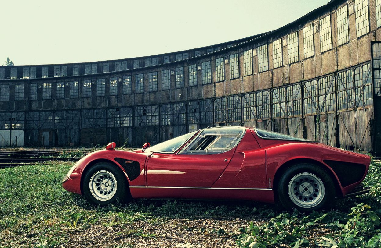 The Alfa Romeo 33 Stradale - (SILODROME) | Cars, Wheels and Vehicle