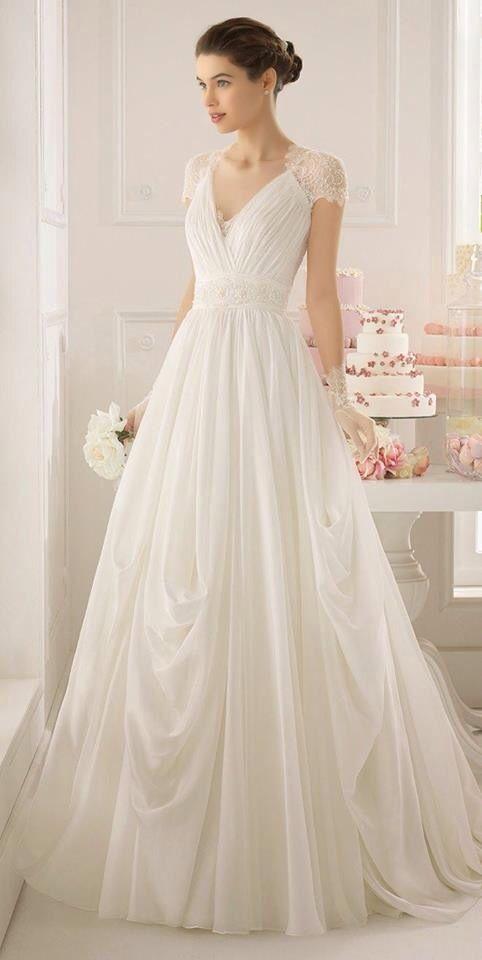 gran calidad cómo llegar precio de calle Traje de novia color Ivory Sencillo y elegante | De fiesta ...