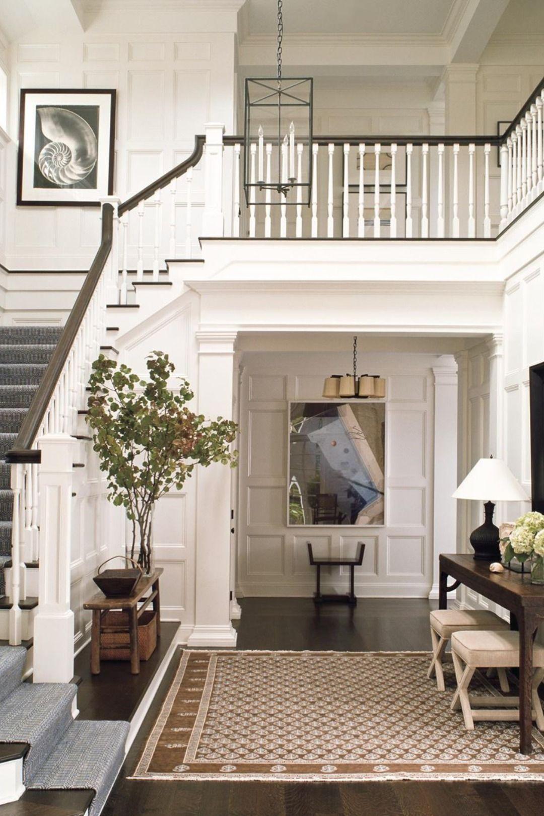 Victoria Hagan Top 20 Best Modern Interior Designers In 2020 House Interior Staircase Design Foyer Decorating