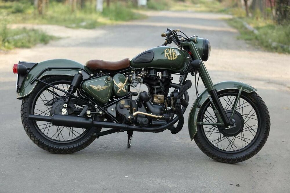For Sale A 1996 Royal Enfield Bullet 350 C 5 500 00 Ships From