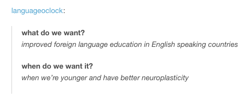 It can all be a little difficult when you've become an old. | 18 Tumblr Posts For People Who Are Slightly Obsessed With Language