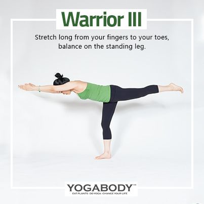 warrior 3  stretch long from your fingers to your toes