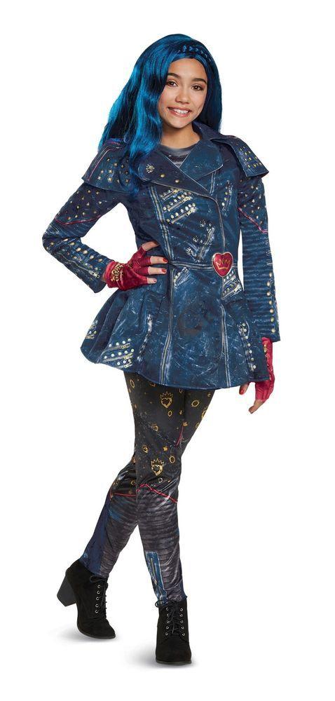 Disguise 24135 Descendants 2 Deluxe Evie Isle Look Child Costume