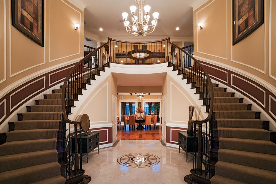 Toll Brothers - The Malvern Foyer   Toll Brothers in 2018 ...