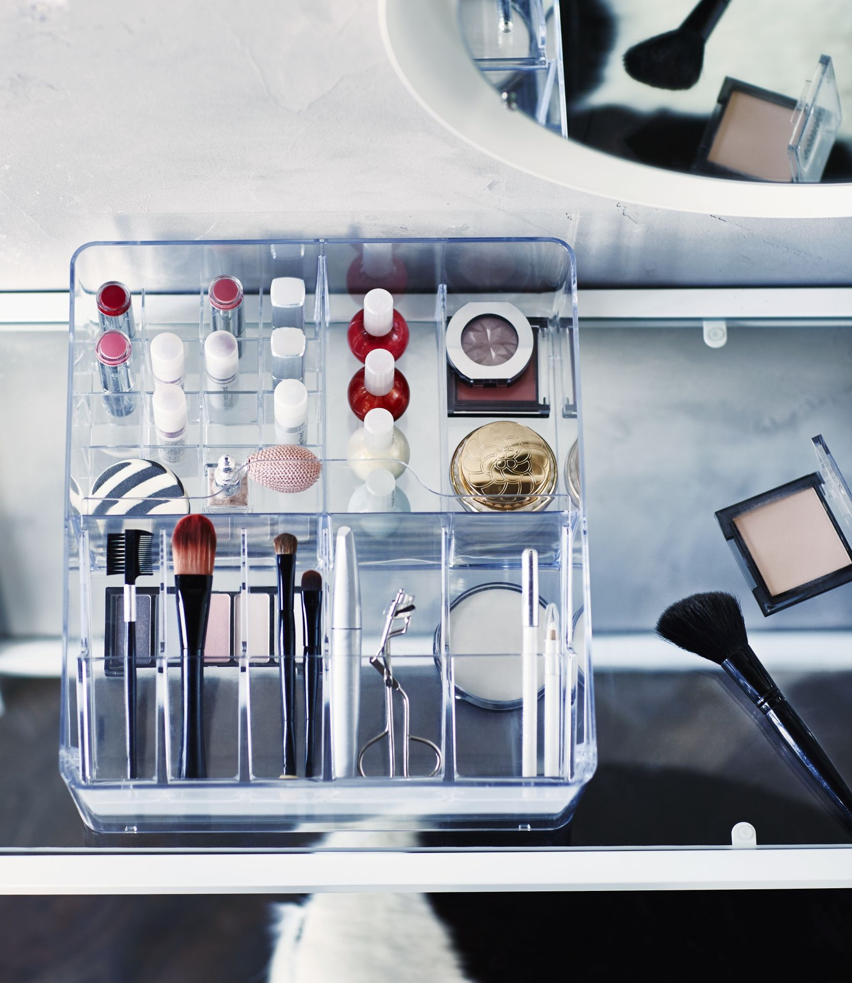 How To Organize Your Makeup - Make Up Organisation, Diy Make