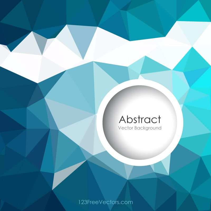 wedding card backgrounds vectors%0A Geometric Polygon Dark Turquoise Background Illustrator   https   www    freevectors com