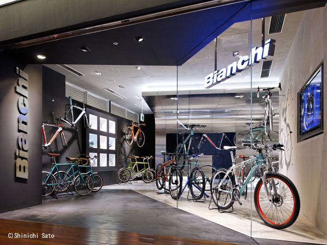 Omotesando bianchi dealer | showrooms in 2019 | Bicycle ...