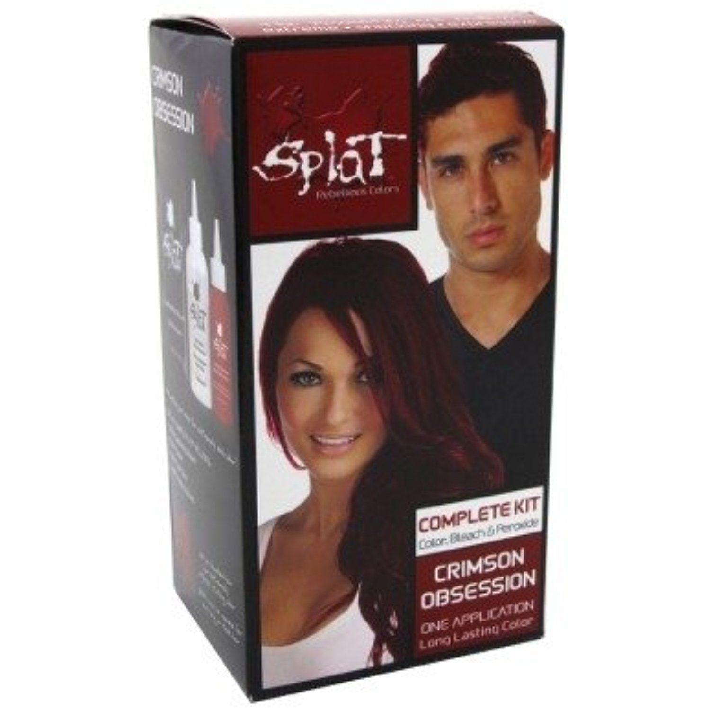 splat hårfarve