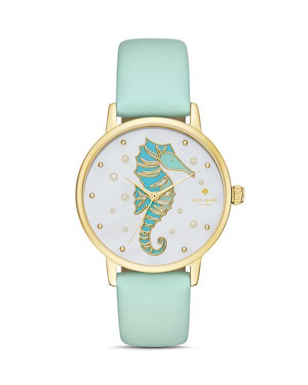 kate spade new york Metro Seahorse Watch 34mm Jewelry