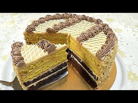 этот торт любят все золотой ключик Cake Golden Key Youtube торт десерты рецепты тортов