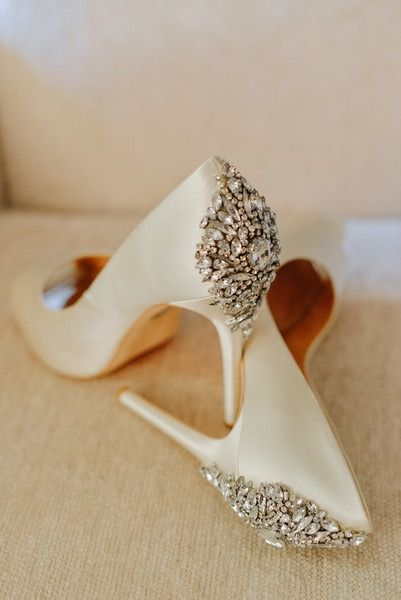 Glam Wedding Shoes For Bride Ivory Heels With Crystal Embellishment Elevate Photography Girls Wedding Shoes Wedding Shoes Embellished Wedding Shoes