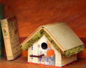 Birdhouse made out of Antique Book-The Tale of Buster Bumble Bee-1919