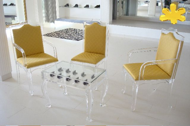 Sedie Ottocento ~ Acrylic interiors lucite acrylic chair sedie in plexiglas