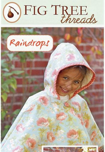 Every little girl needs one of these! $6.50 - Make it from quilted cotton or out of laminate cotton for those cold and rainy days.
