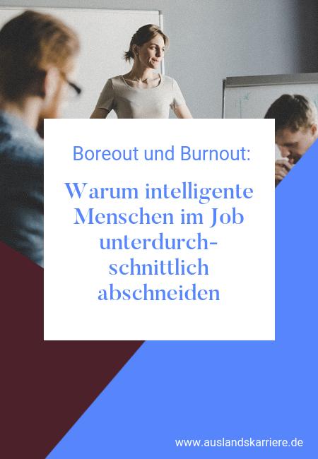 Warum Intelligente im Job unterdurchschnittlich sind Job