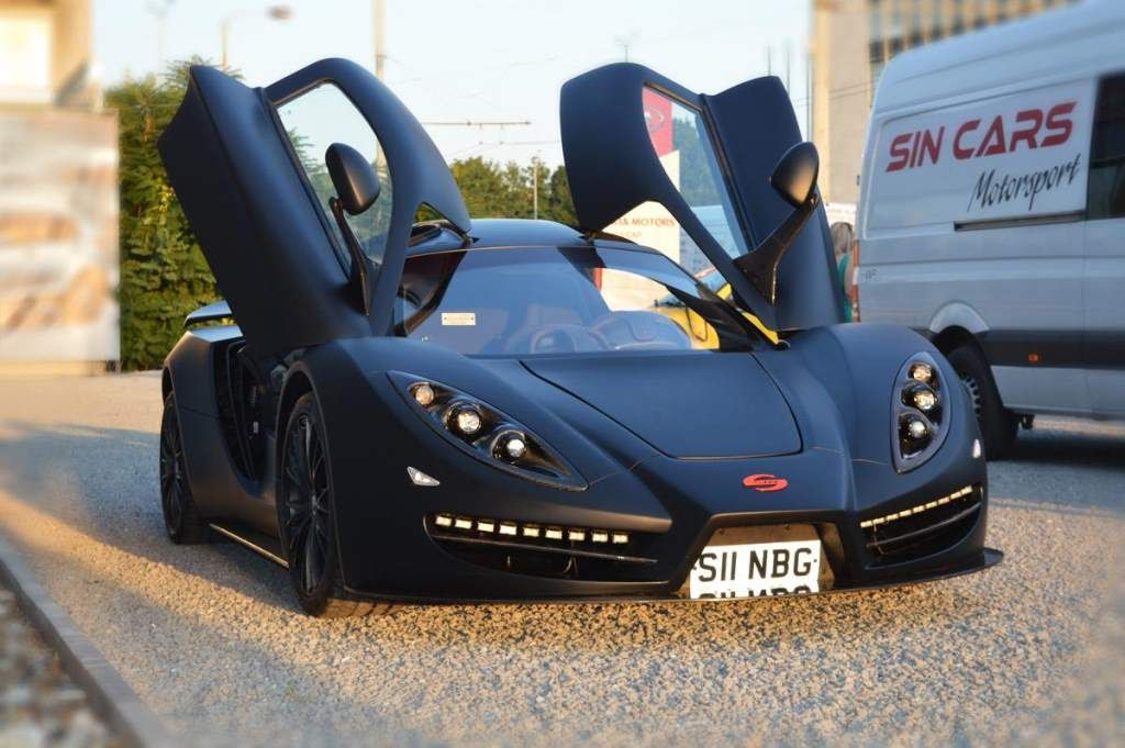 The Sin R1 Is A German Built Supercar That Is Cheaper And Faster Than The Nissan Gt R Super Cars Super Sport Cars Car