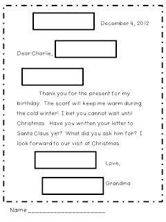 Letter Writing Friendly Letter Writing Writing Lessons Letter