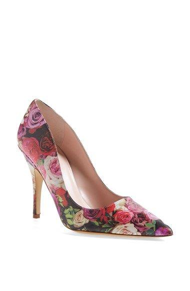 aae69e329c82 Floral Kate Spade Pumps-gorgeous!