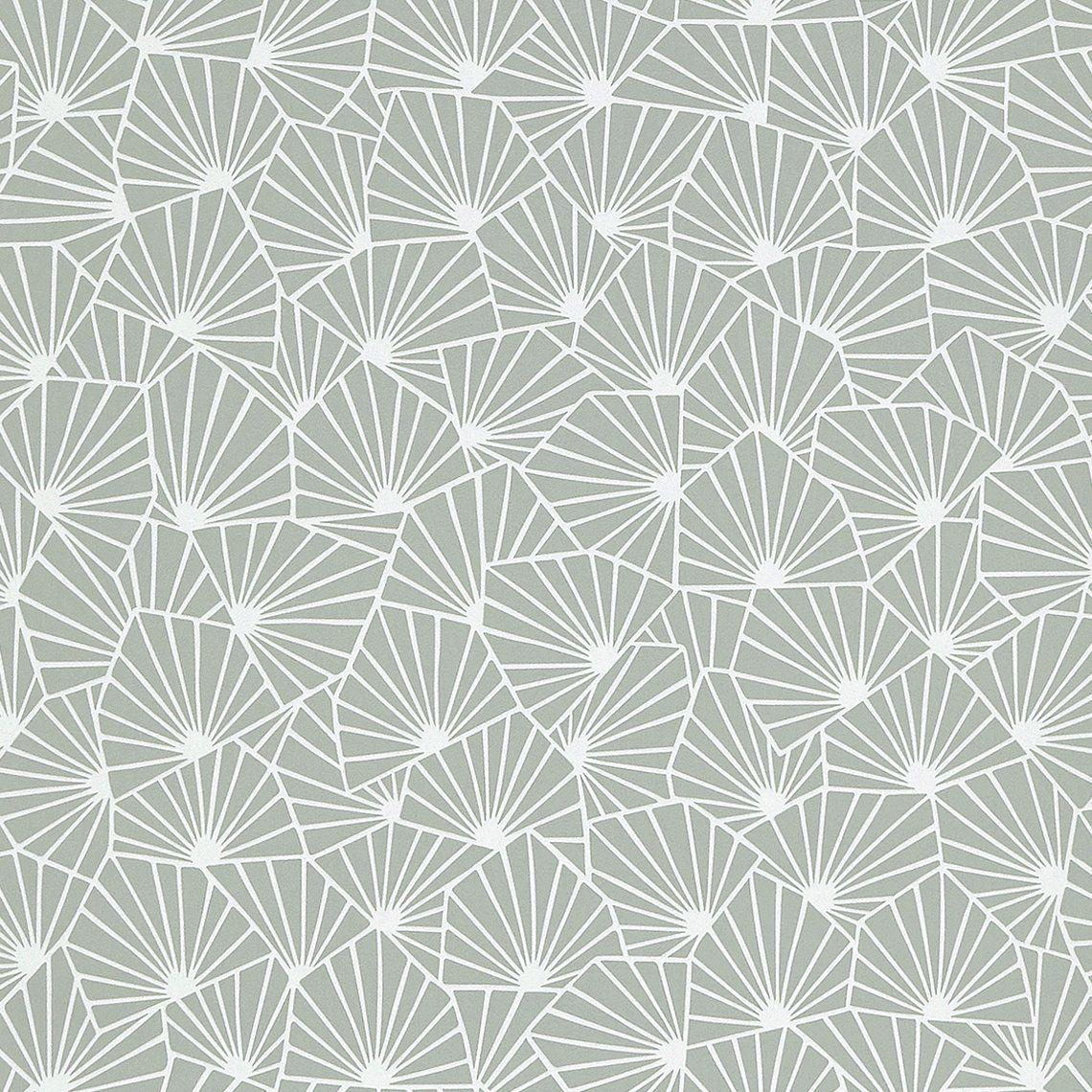 papier peint raphael 100 intiss motif graphique mat vert d 39 eau peinture et papier peint. Black Bedroom Furniture Sets. Home Design Ideas