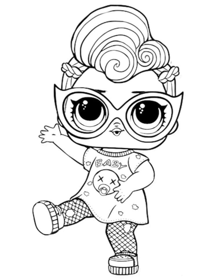 Lol Surprise Dolls Coloring Pages Print Them For Free All The Series Unicorn Coloring Pages Cute Coloring Pages Pokemon Coloring Pages
