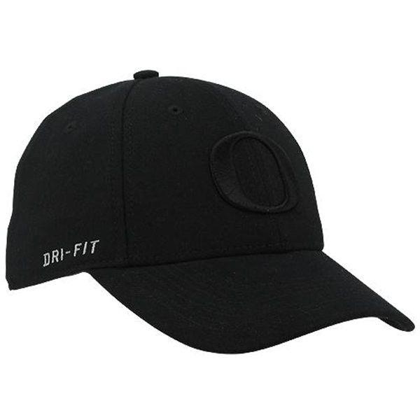 Nike Oregon Ducks Dri-FIT Swoosh Flex Hat - Black