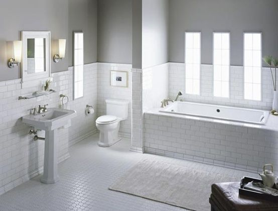 Bathroom Tile Design Ideas White   Google Search