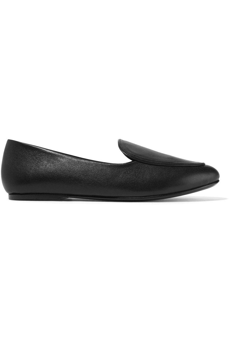 black Liza studded leather loafers Newbark Low Shipping Fee Cheap Online 93i5j7Kw7v